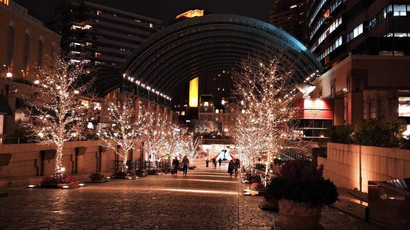 恵比寿ガーデンプレイス夜景