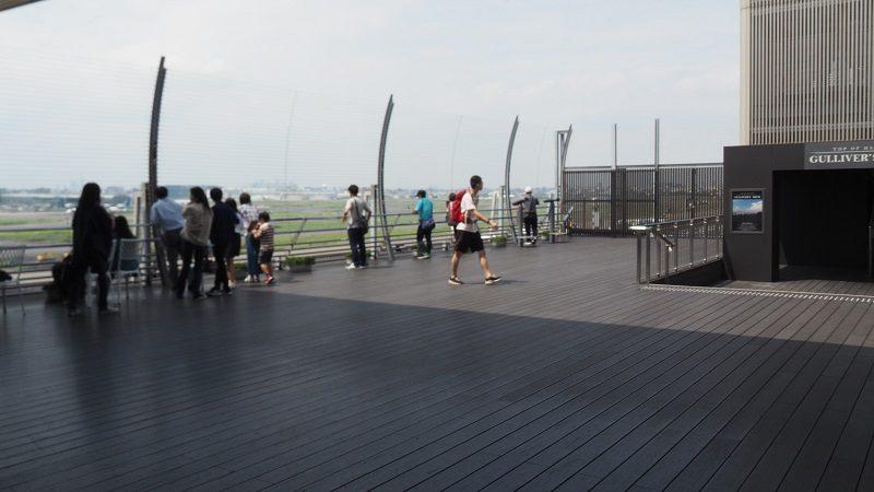 羽田空港第1ターミナル6階展望デッキ