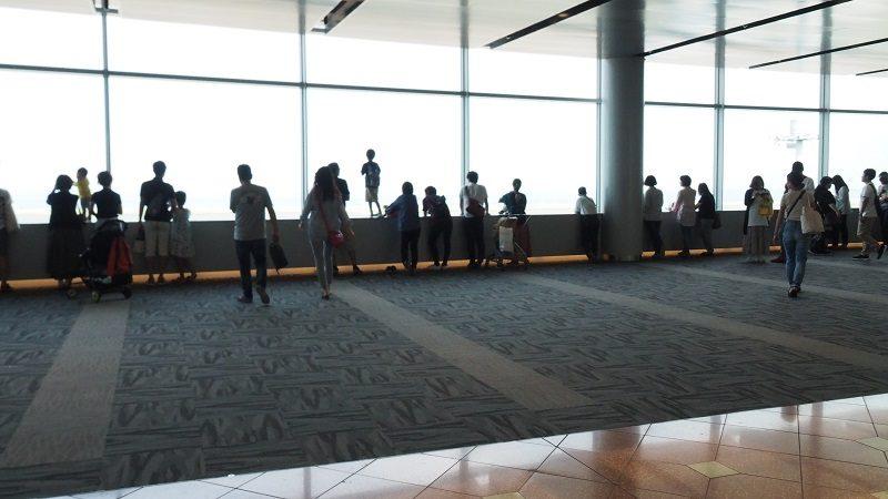 羽田空港第2ターミナル屋内展望フロア「FLIGHT DECK TOKYO」