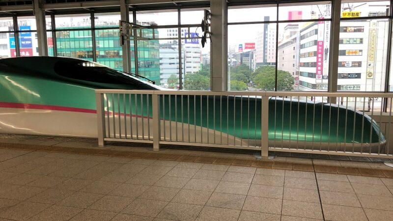 東北新幹線仙台駅