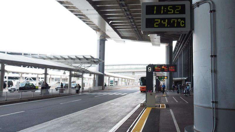 成田空港第2ターミナルバス乗り場