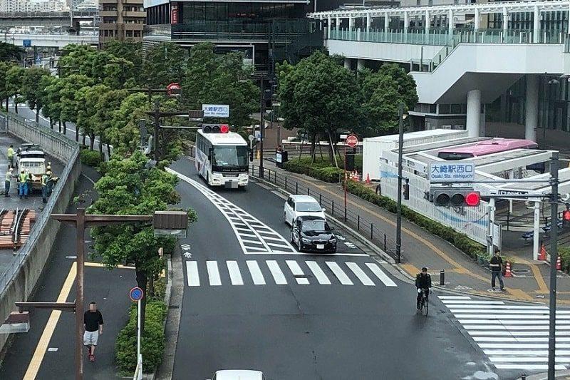 大崎駅西口交差点
