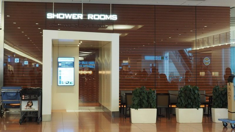 羽田空港第3ターミナル2階  シャワールーム