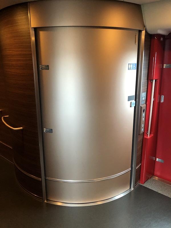 E5系 グリーン車トイレ