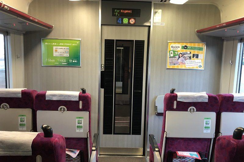 JR東日本普通列車グリーン車平屋部分
