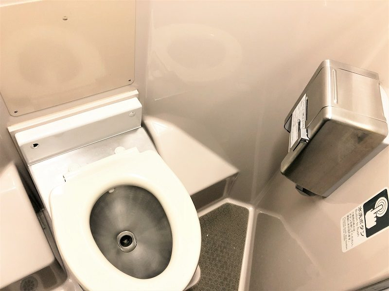 JR東日本普通列車グリーン車トイレ