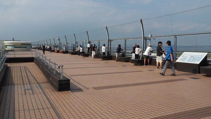 羽田空港第2ターミナル屋外展望デッキ
