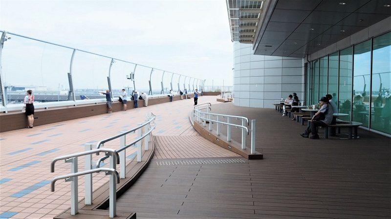 羽田空港第3ターミナル展望デッキ