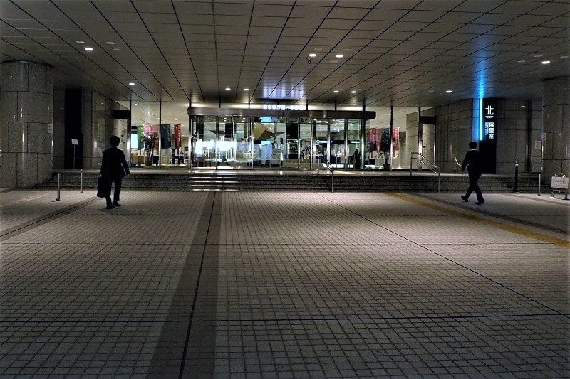 東京都庁展望室入口