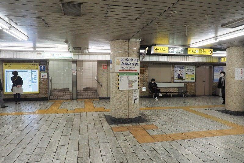 都営浅草線泉岳寺駅