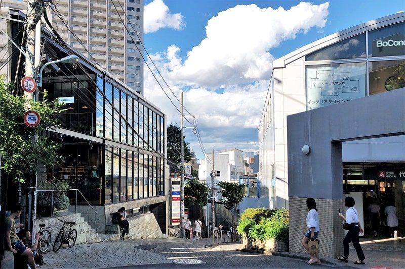 東急線代官山駅前