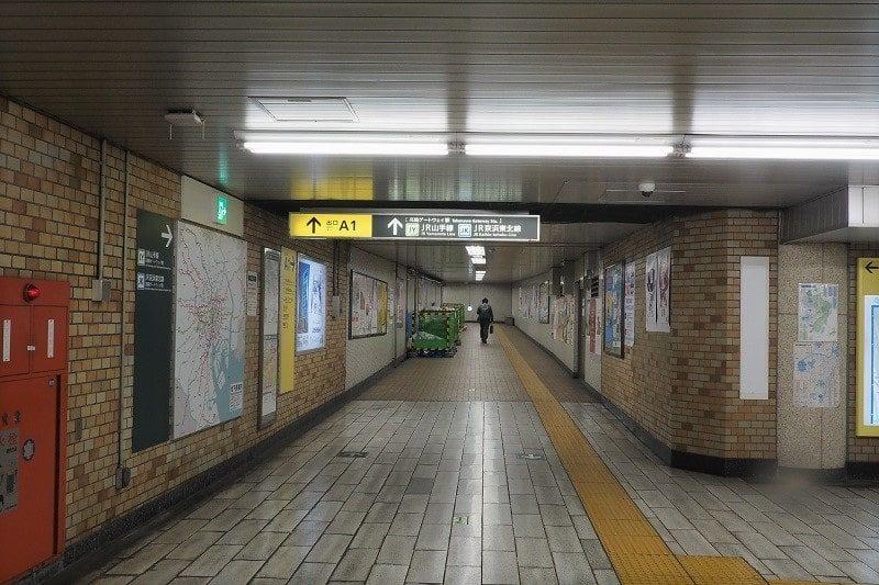 都営浅草線泉岳寺駅A1出口