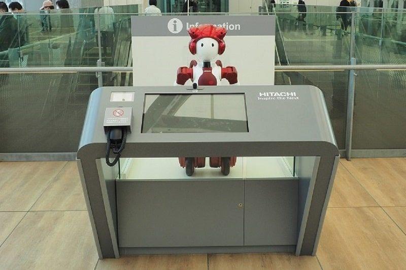 高輪ゲートウェイ駅AI案内ロボット