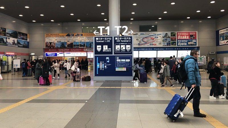 関西空港駅コンコース