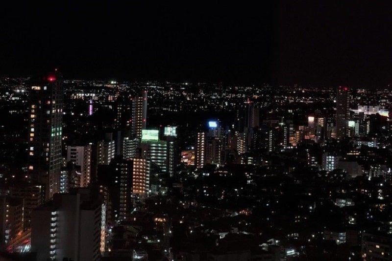 世田谷の夜景