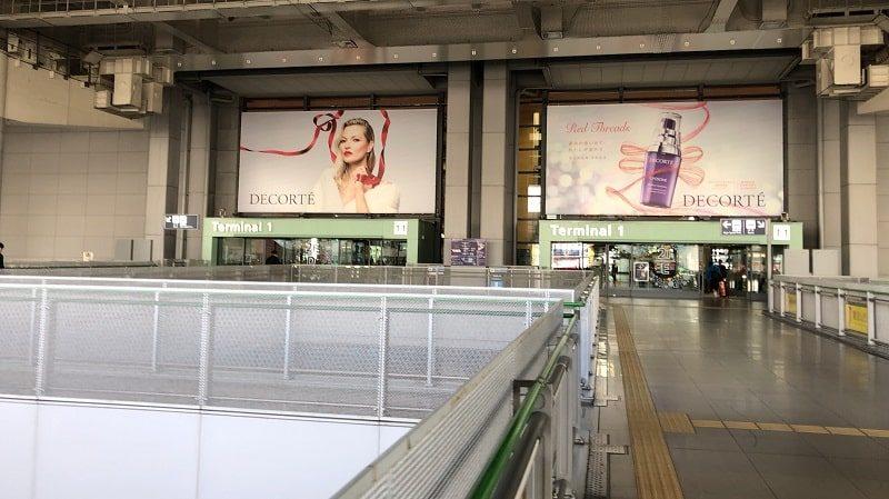 関西国際空港第1ターミナル2階入口
