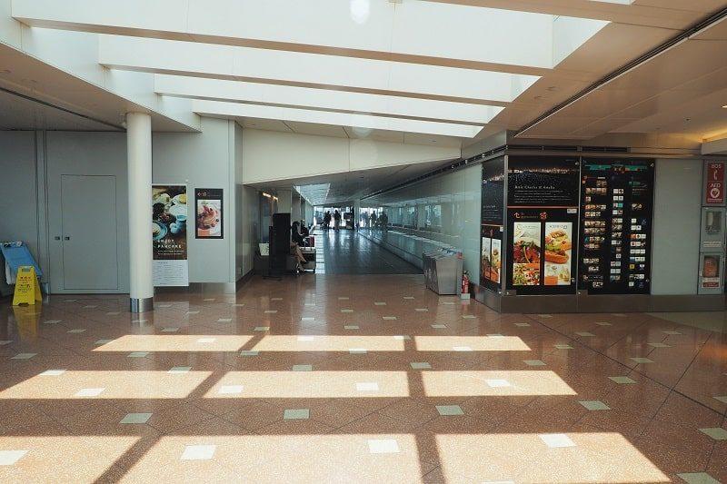 羽田空港第2ターミナル屋内展望フロア