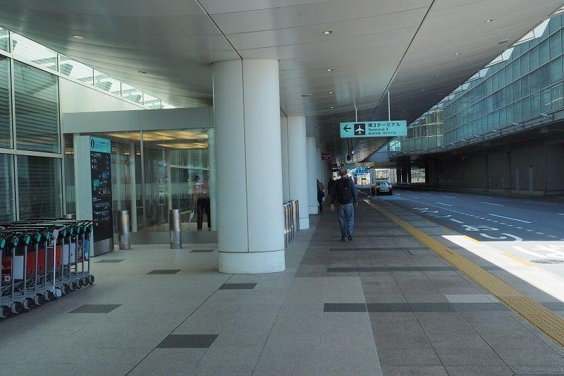 羽田空港第3ターミナル1階入口