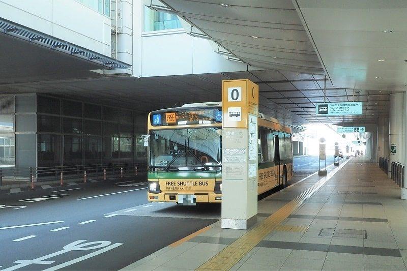 羽田空港第1・第2ターミナル行き連絡バス