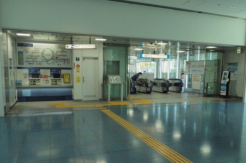 東京モノレール羽田空港第3ターミナル駅