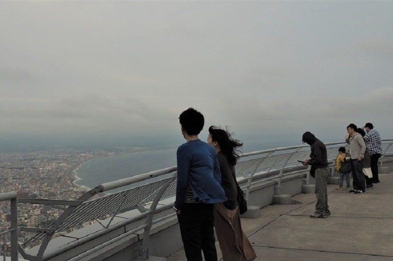 函館山屋上展望台