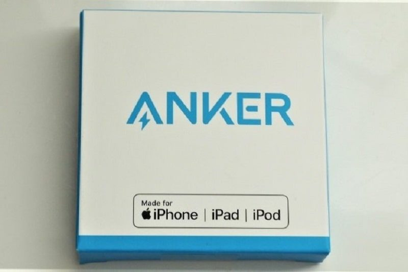 Anker PowerLine ライトニングケーブルのパッケージ