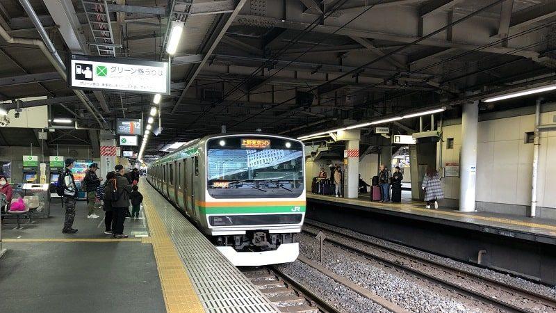 東海道線品川駅