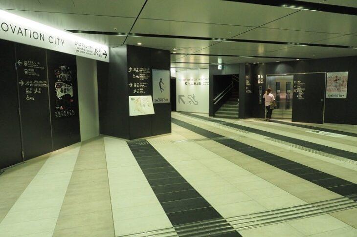 羽田イノベーションシティ地下1階入口