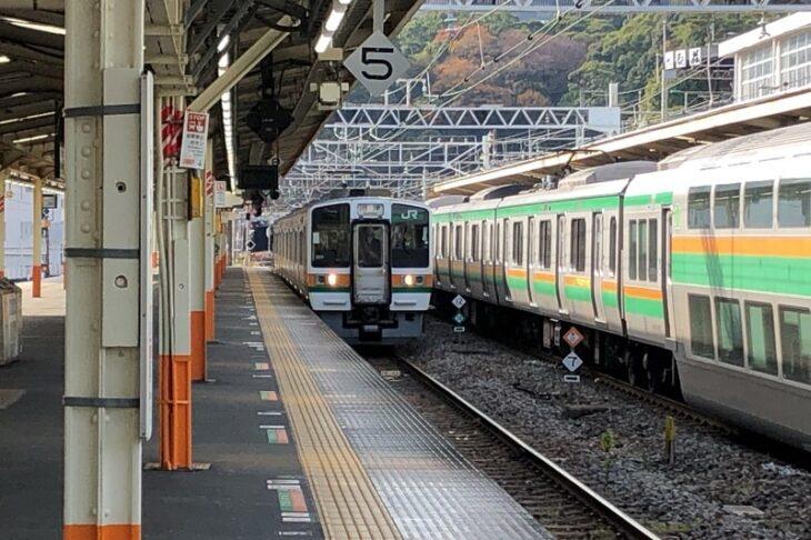 東海道本線熱海駅