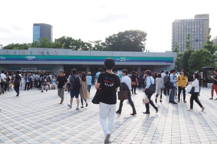 東京ドーム25番ゲート