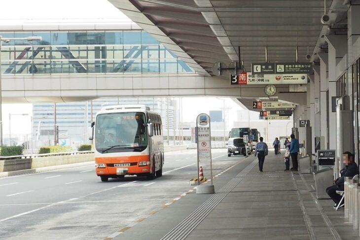 羽田空港第1ターミナルリムジンバス降車停留所