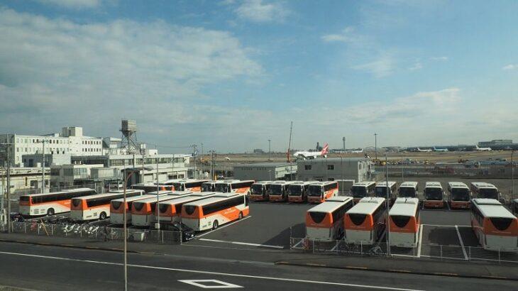 東京モノレールからの羽田空港
