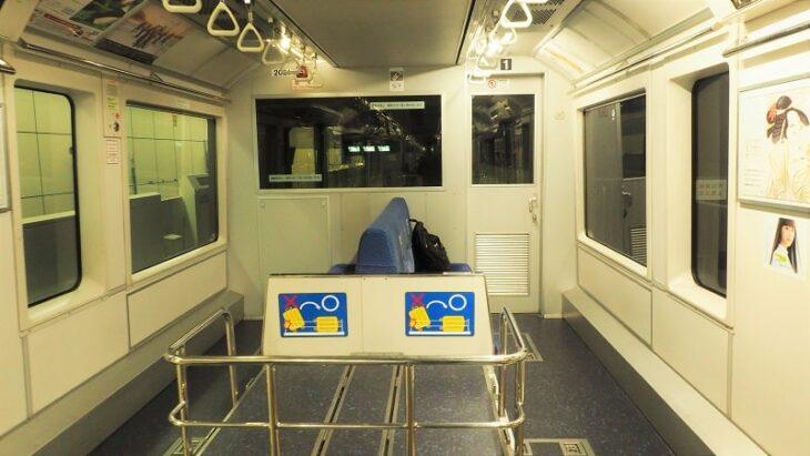 東京モノレール先頭車両