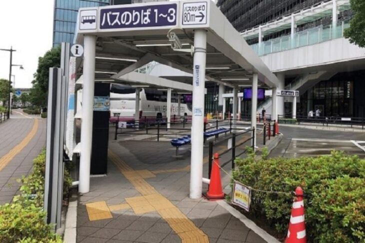 大崎駅西口 バスのりば