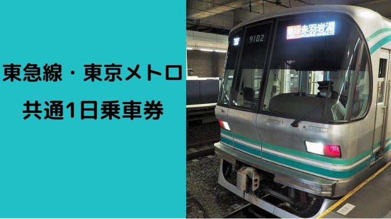 東急線・東京メトロ共通1日乗車券
